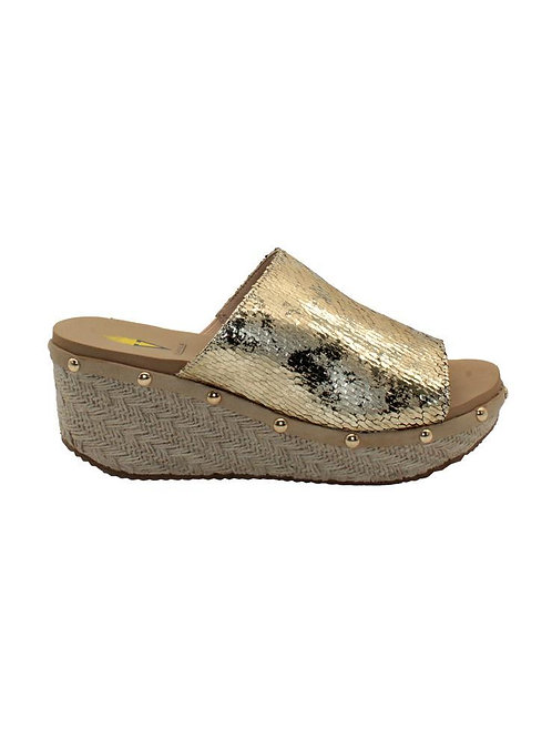 Gold Volatile Sandal