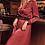 Thumbnail: Satin Maxi Dress ~ Wine