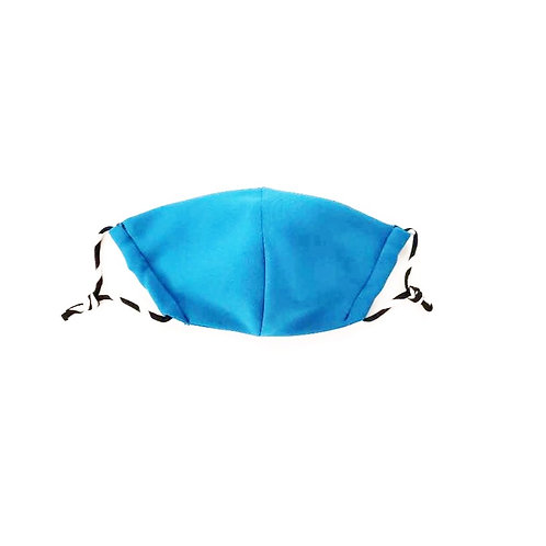 Designer Adult Teal Face Mask, Unisex, Double Layer Cloth