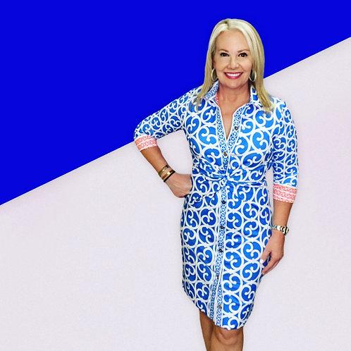 GS Royal Blue Dress