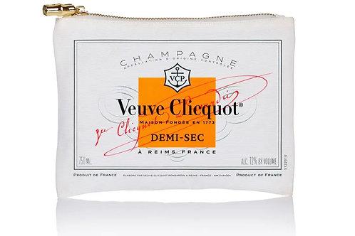 Jumbo Flat Zip Veuve Label Orange