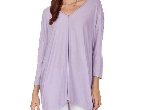 Lavender V-Neck Tunic/Top