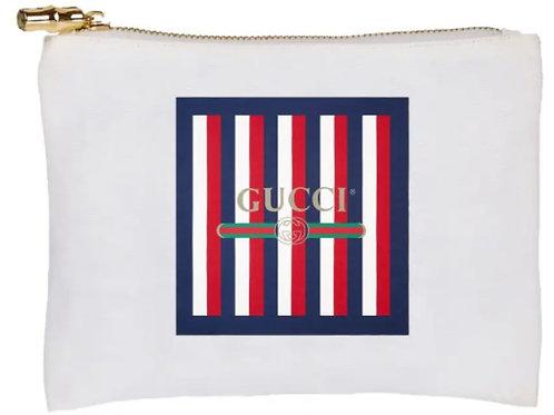 Flat Zip- GG Stripes