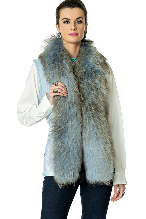 Double D Ranch Hondo Vest ~ Blue Eyes