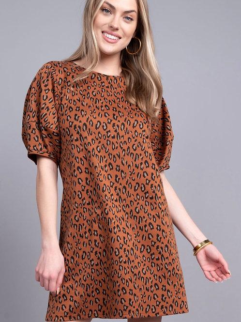 Leopard Swing Dress