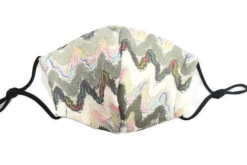 Missoni Swirl ~ Double Layer ~ Insert ~ Adult Mask