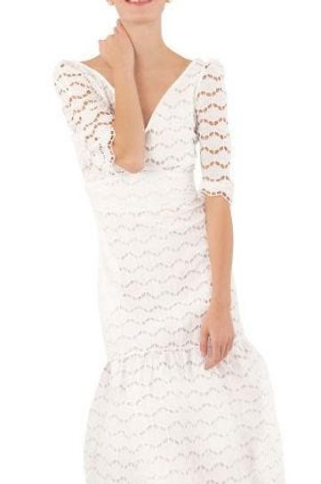 Lace Dress 3/4 Sleeve