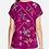 Thumbnail: Sangria Embroidery Tee