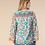 Thumbnail: Hale Turquoise Silk Top