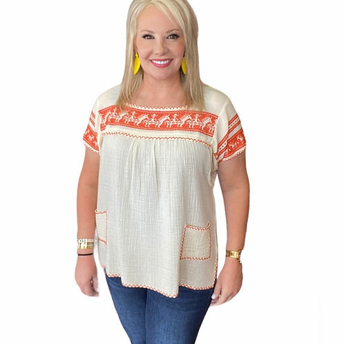 Ivy Jane Top with Pockets