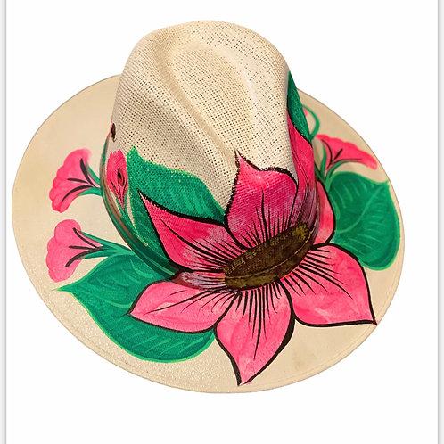 Pink Hibiscus 🌺 Straw Hats