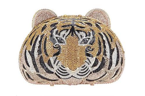 Tiger Crystal Handbag