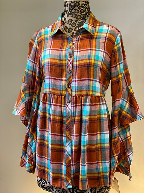 Ivy Jane Plaid Top