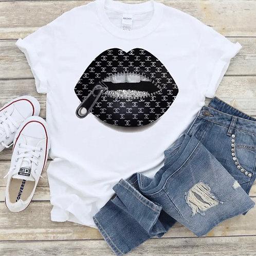 Diamond CC Lips T-Shirt