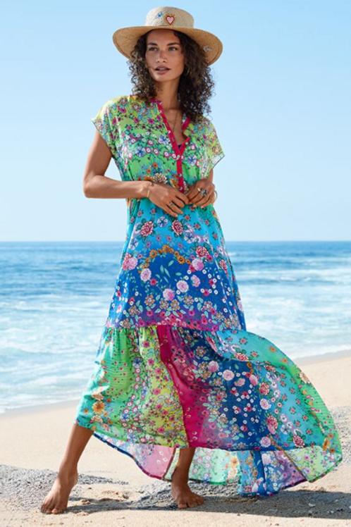 Dreamy Silk Floral Dress