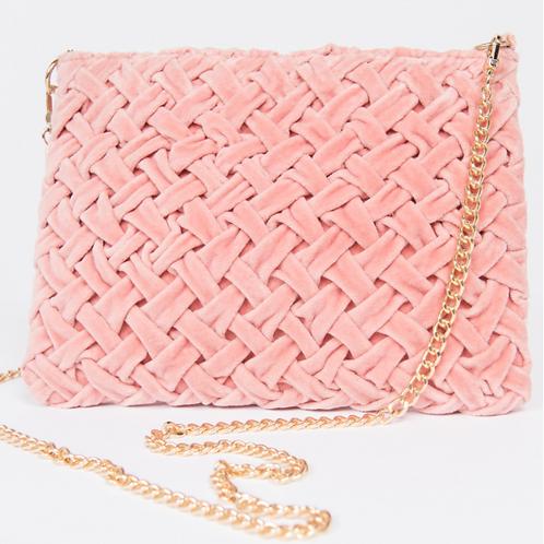 Smocked Cross Body Bag Blush By Ivy Jane