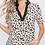 Thumbnail: Leopard Detail Shirt with Button Detail
