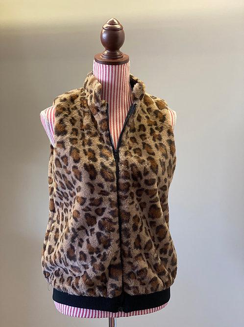 JoyJoy Leopard Vest