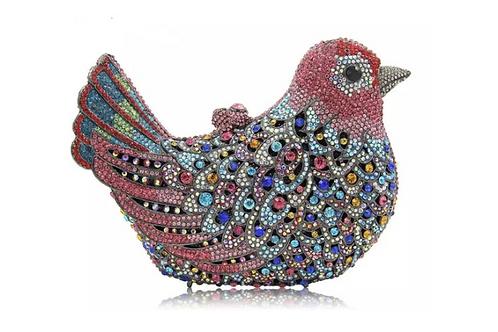 Crystal Bird Handbag