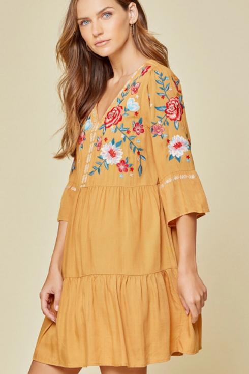 Marigold Babydoll Dress