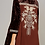 Thumbnail: Brown Velvet Top with Embroidery