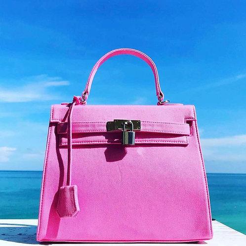 Pink Sun ~ Vegan Handbag