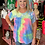 Thumbnail: Candy Embroidery Tie Dye Top