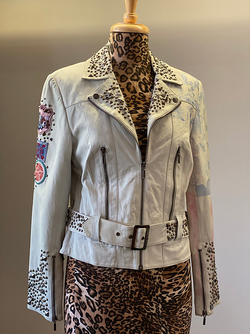 Double D Ranch Leather Jacket