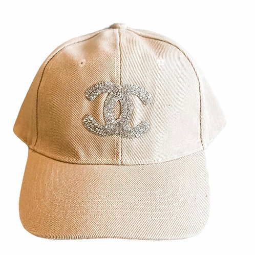 Khaki CC Baseball Cap