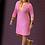 Thumbnail: Pink Stripe Jersey Dress