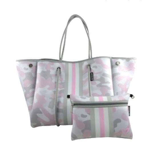 Camo Pink, Grey & White