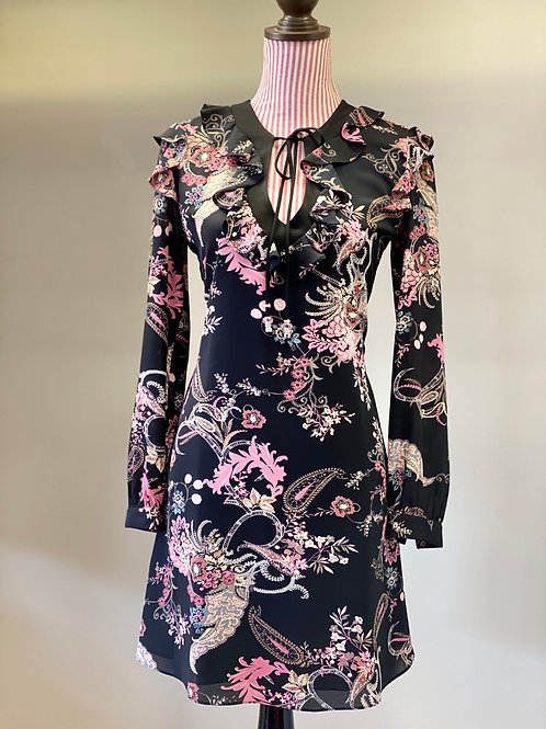 Atina Cristina Print Floral Dress