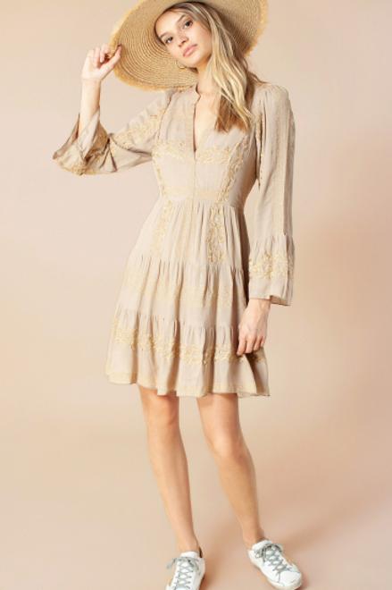 Hale Sand Dress
