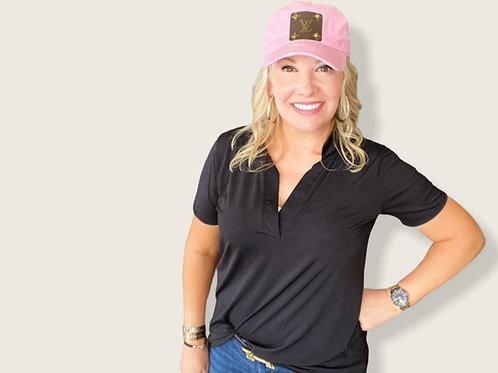Pink Cap - Repurposed