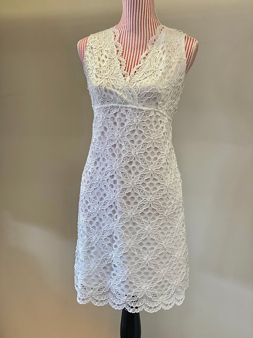 Kay Celine White lace Dress