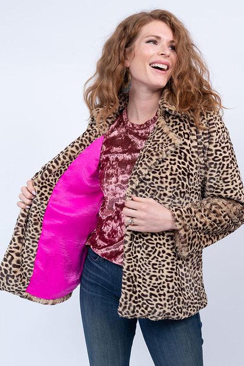 Faux Leopard Ivy Jane Jacket