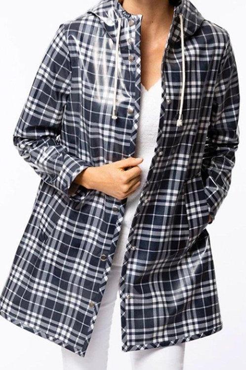 Plaid Rain Jacket