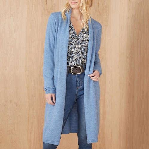 Baby Blue Duster Cardigan