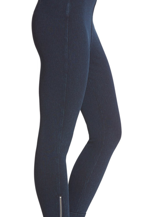 Lysee Denim Ankle Crop Legging