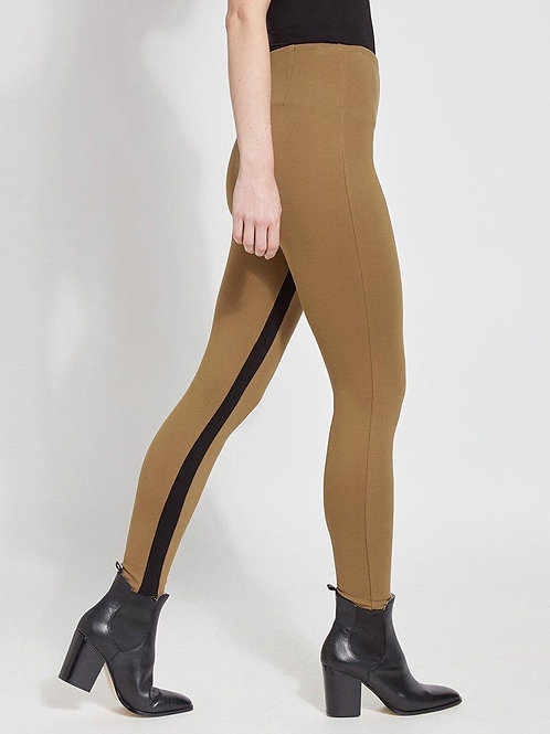 Lysee Legging with Black Stripe ~ Butternut