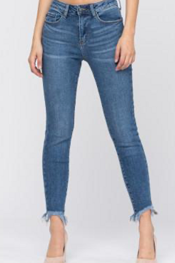 Judy Blue Mid Wash Jean
