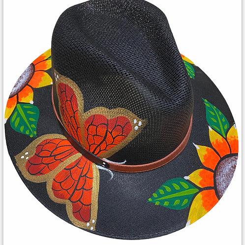 Butterfly Straw Hat