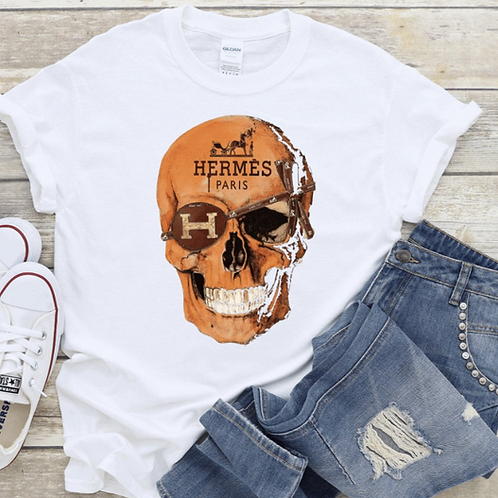 Skull H T-Shirt