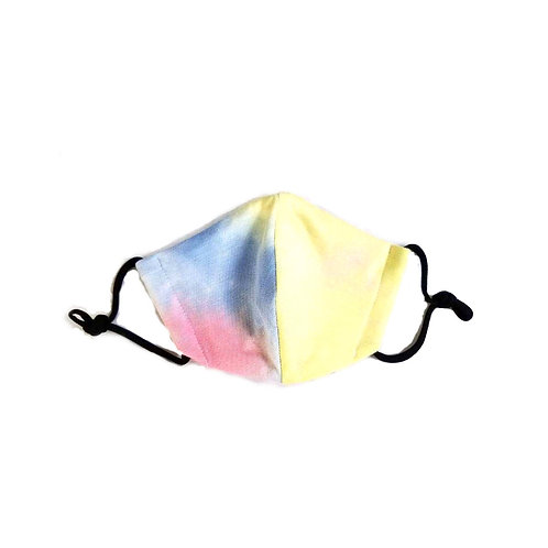 Tie Dye Designer Adult Face Mask, Unisex, Double Layer Cloth. Design will vary.
