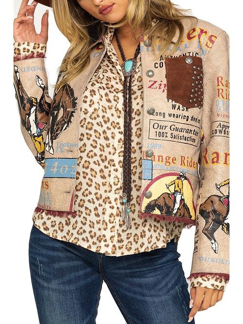 Double D Ranch Women's Elk Horn Range Rider Jacket