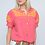 Thumbnail: Ivy Jane Coral with Yellow Trim Top