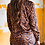 Thumbnail: Leopard Button Down with Leopard Fringe