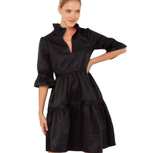 Tiered Dress ~ Black