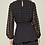Thumbnail: Black Sheer Dot Dress
