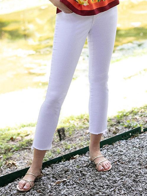 Skinny Ankle White Jean